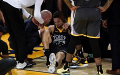 Navigation to Story: Klay Thompson Out for Rest of NBA Season