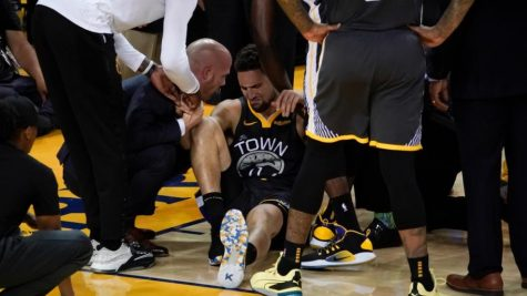 Klay Thompson Out for Rest of NBA Season